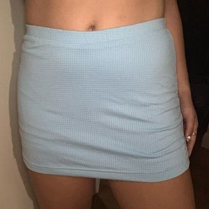VINTAGE Nike Tennis Skirt- Baby Blue
